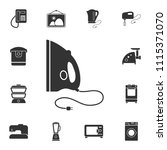 iron icon. simple element... | Shutterstock .eps vector #1115371070
