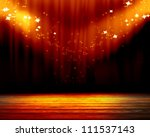stage lights with room for an... | Shutterstock . vector #111537143