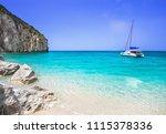 Beautiful Lagoon With Sailing...