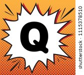 letter q sign design template... | Shutterstock .eps vector #1115378510