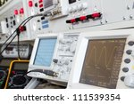 digital and analog oscilloscope ... | Shutterstock . vector #111539354