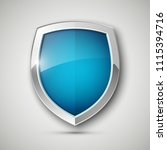 protected steel guard shield... | Shutterstock .eps vector #1115394716