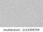 black and white geometric... | Shutterstock .eps vector #1115398709
