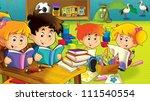 the cartoon kindergarten   fun... | Shutterstock . vector #111540554