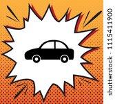car sign illustration. vector.... | Shutterstock .eps vector #1115411900