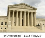 united sates supreme court in... | Shutterstock . vector #1115440229
