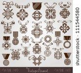 Royal Medal Vintage Set