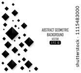 abstract diamond shape...   Shutterstock .eps vector #1115483000
