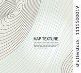topographical vector background ... | Shutterstock .eps vector #1115500019
