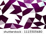 dark purple vector polygon... | Shutterstock .eps vector #1115505680