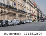 paris  france   june 11  2018 ... | Shutterstock . vector #1115512604