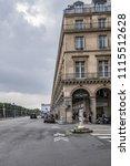 paris  france   june 11  2018 ... | Shutterstock . vector #1115512628