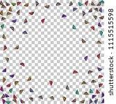 colorful gradients umbrella... | Shutterstock .eps vector #1115515598