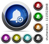 reminder settings icons in...   Shutterstock .eps vector #1115523848