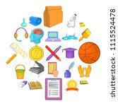 new knowledge icons set....   Shutterstock .eps vector #1115524478