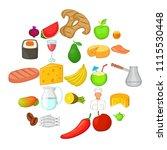 duty icons set. cartoon set of...   Shutterstock .eps vector #1115530448
