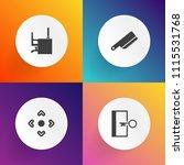 modern  simple vector icon set...   Shutterstock .eps vector #1115531768