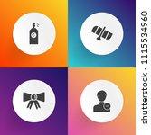 modern  simple vector icon set... | Shutterstock .eps vector #1115534960