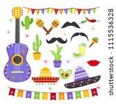 vector illustration set of...   Shutterstock .eps vector #1115536328