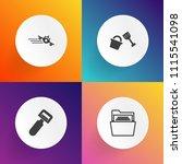modern  simple vector icon set... | Shutterstock .eps vector #1115541098