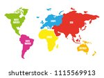 map vector illustration | Shutterstock .eps vector #1115569913