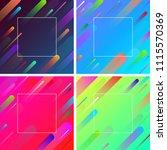 bright spectrum backgrounds... | Shutterstock .eps vector #1115570369