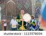 bukhara  uzbekistan   may 26 ... | Shutterstock . vector #1115578034