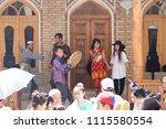 bukhara  uzbekistan   may 26 ... | Shutterstock . vector #1115580554