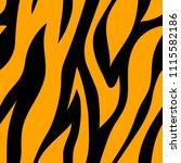 seamless pattern  orange and... | Shutterstock .eps vector #1115582186