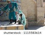 bukhara  uzbekistan   may 26 ... | Shutterstock . vector #1115583614