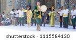 bukhara  uzbekistan   may 26 ... | Shutterstock . vector #1115584130