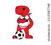 sport cartoon mascot design    Shutterstock .eps vector #1115587748
