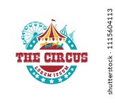 collection set of circus design ...   Shutterstock .eps vector #1115604113