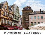 linz am rhein  germany  may 31  ... | Shutterstock . vector #1115618099