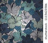 vector illustration. romantic... | Shutterstock .eps vector #1115623586
