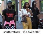 milan  italy  june 18  2018 ... | Shutterstock . vector #1115626280