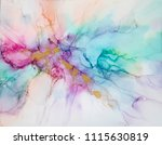 alcohol ink art. abstract... | Shutterstock . vector #1115630819