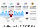 travel planning guide  the... | Shutterstock .eps vector #1115631596