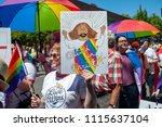 portland or  usa   june 17 ... | Shutterstock . vector #1115637104