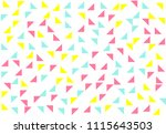 colored geometric pattern... | Shutterstock .eps vector #1115643503