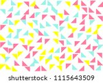 colored geometric pattern...   Shutterstock .eps vector #1115643509