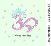 vector illustration number...   Shutterstock .eps vector #1115648159