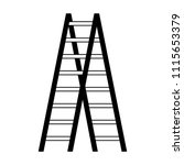 wooden stair tool object image | Shutterstock .eps vector #1115653379