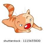 vector illustration of a cute...   Shutterstock .eps vector #1115655830