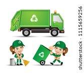 people set   profession  ... | Shutterstock .eps vector #1115659256
