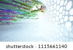abstract white and colored... | Shutterstock . vector #1115661140