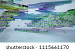 abstract white and colored... | Shutterstock . vector #1115661170