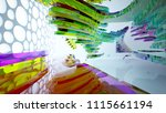 abstract white and colored... | Shutterstock . vector #1115661194