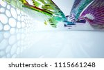 abstract white and colored... | Shutterstock . vector #1115661248