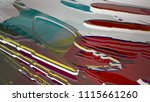 abstract white and colored... | Shutterstock . vector #1115661260